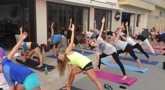 Bikram Yoga en La playa en Valencia