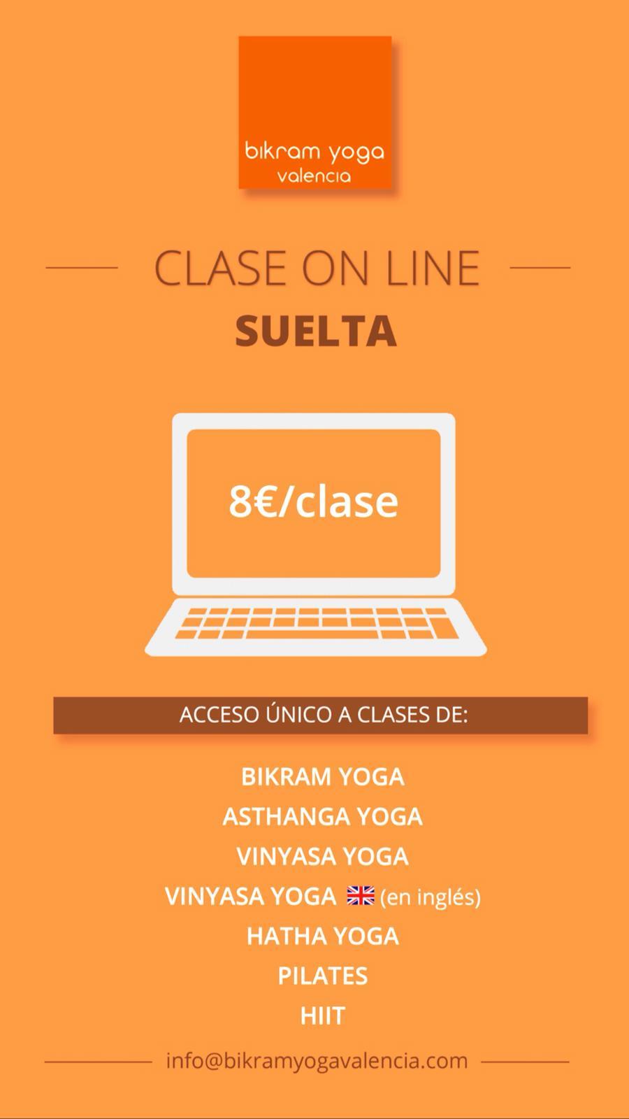 clases yoga online bikram yoga valencia